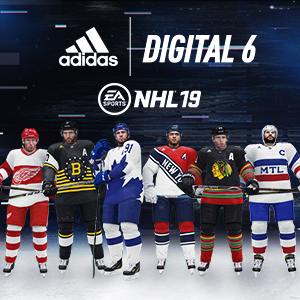 adidas Digital 6 Jerseys Available Now in NHL 19