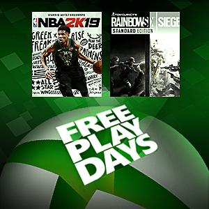 Free Play Days: NBA 2K19 and Tom Clancy's Rainbow Six Siege