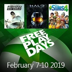 Free Play Days: The Sims 4, Halo: The Master Chief Collection, and Fishing Sim World