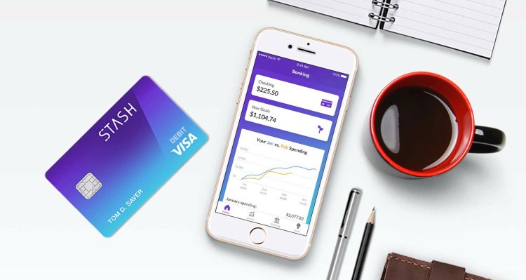 Investing app Stash raises $65M, launches banking and 'stock-back' rewards with Green Dot