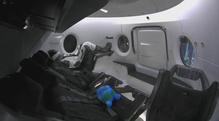 SpaceX launches first Crew Dragon capsule mission in preparation for astronaut flights