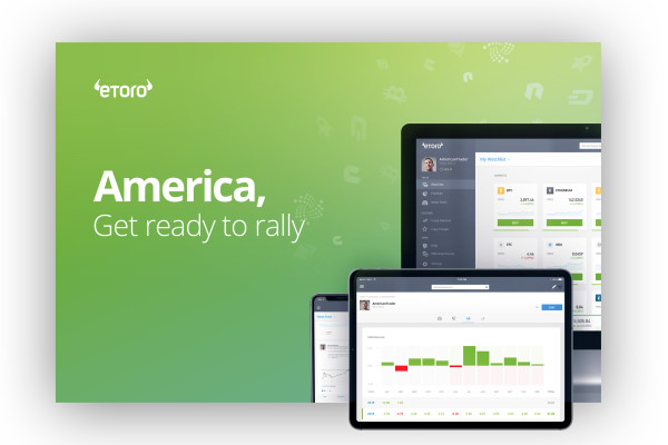 eToro bringing crypto trading and wallet to the US