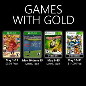 New Games with Gold for May 2019