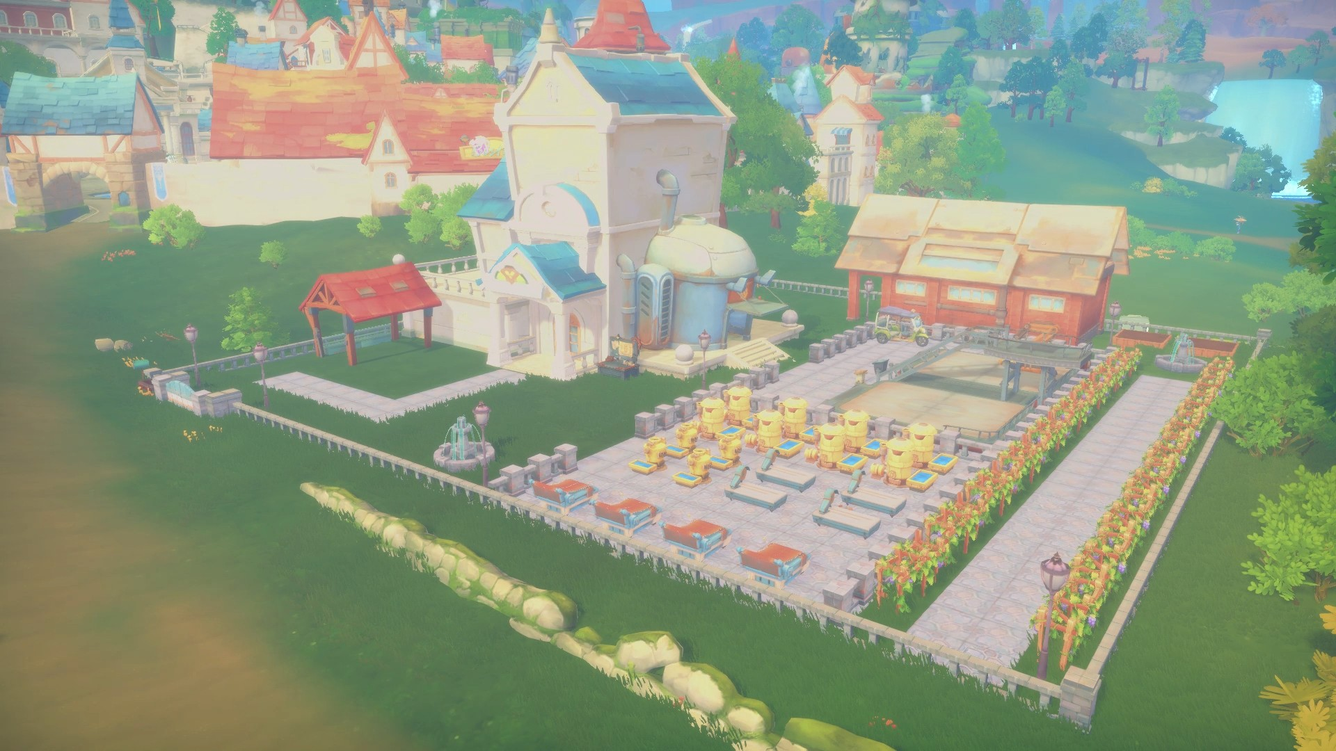 Open World Simulation RPG My Time at Portia Available Now on Xbox One
