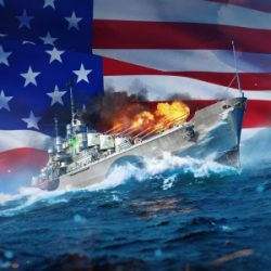 World of Warships: Legends Brings Reinforcements to Xbox One with the Atlanta Cruiser