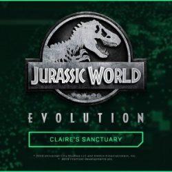 Creating a Sanctuary in Jurassic World Evolution