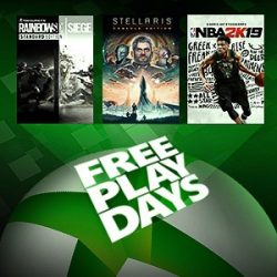 Free Play Days: Tom Clancy's Rainbow Six Siege, NBA 2K19, and Stellaris: Console Edition