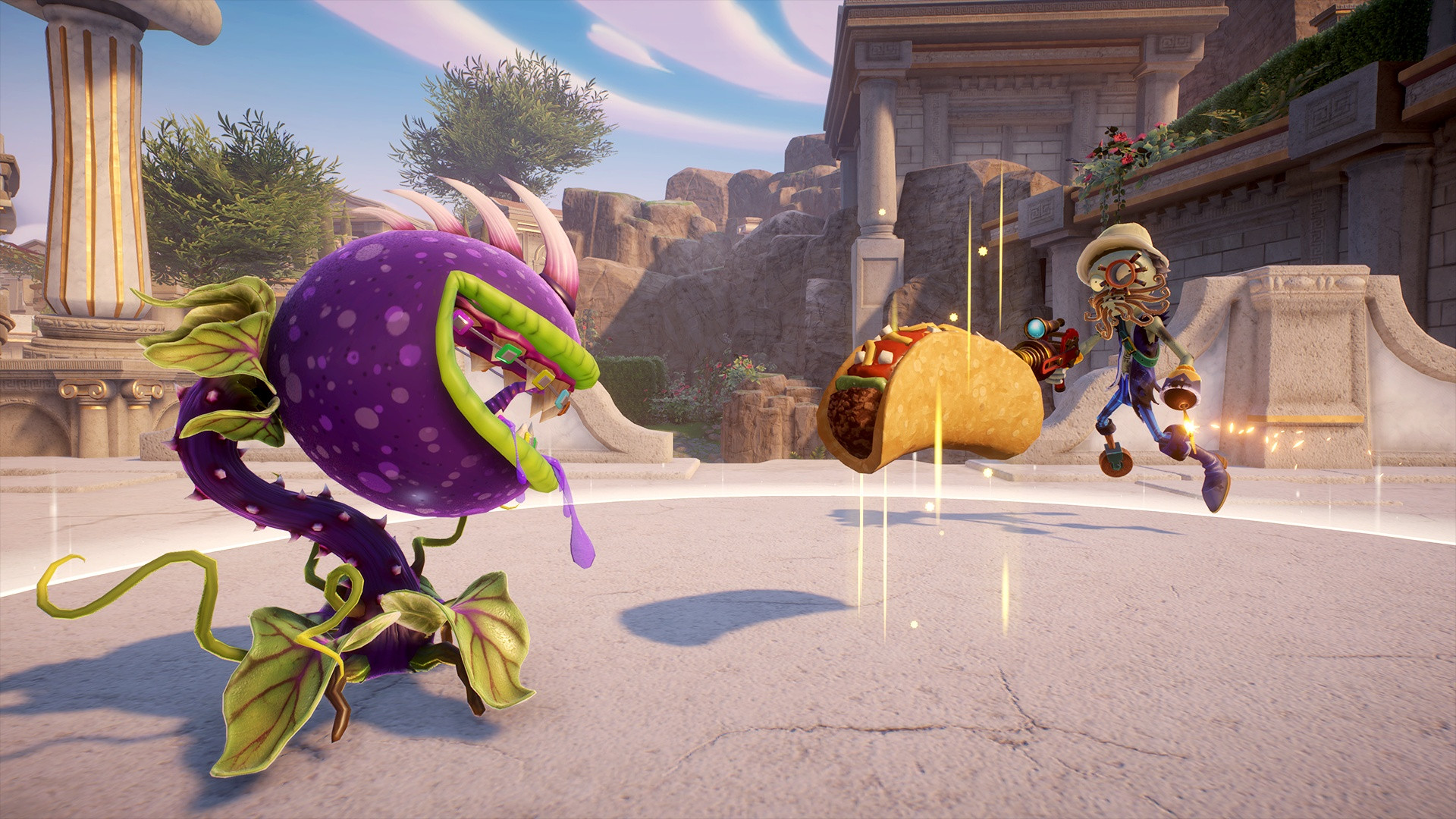 Plants vs. Zombies Garden Warfare 2's Tale of the Taco is Here
