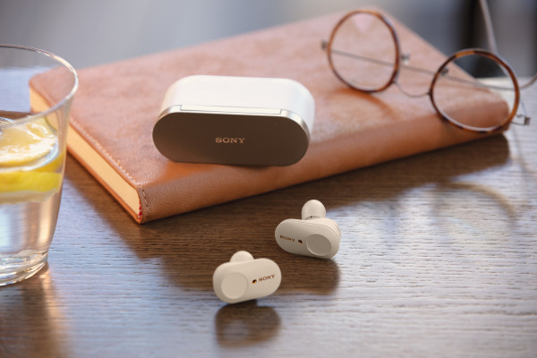 Sony's new wireless earbuds pack great noise-canceling and battery life