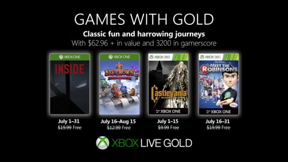 Games with Gold Hero Image