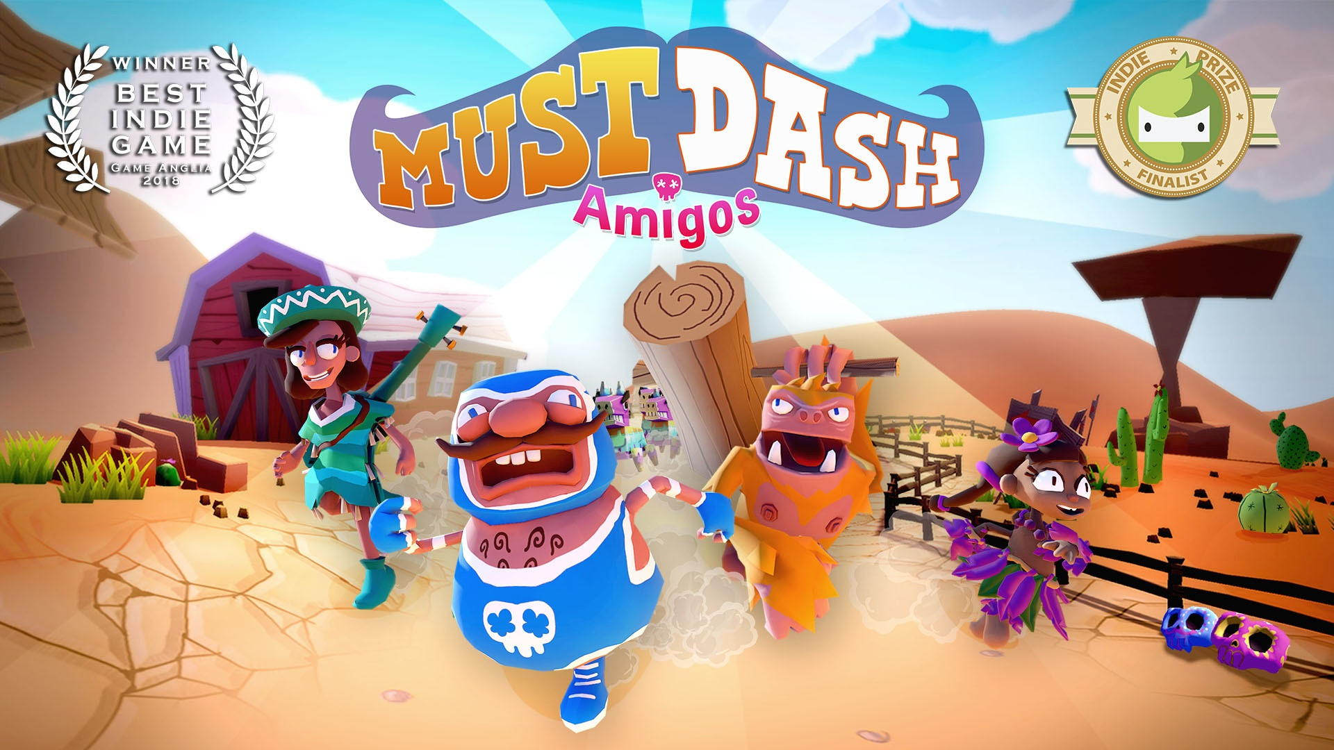 The Story Behind Duo's Family Friendly Party Game: Must Dash Amigos