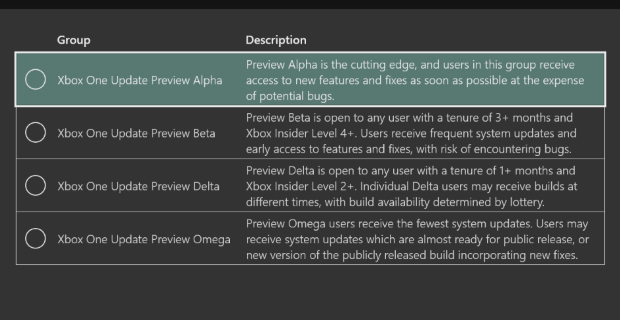 August 31st  : New Preview Alpha Ring 1910 Update (1910.190829-1945)