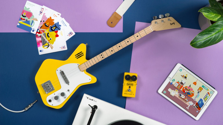 Loog launches a trio of new educational guitars