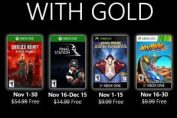 New Games with Gold for November 2019