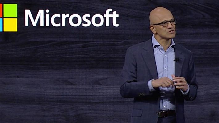 Satya Nadella looks to the future with edge computing