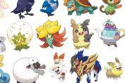 Guide: Pokémon Sword And Shield Gen 8 New Pokémon List - Full Galar Pokédex Including Returning Pokémon