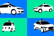 Hailing a driverless ride in a Waymo
