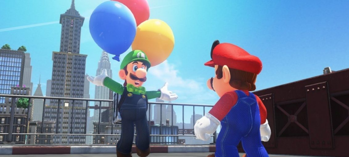 Luigi Almost Looked Very Different In Super Mario Odyssey