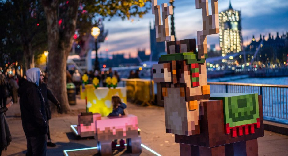 Minecraft Earth Early Access Off to an Exciting Start Following Mobs in the Park Kickoff