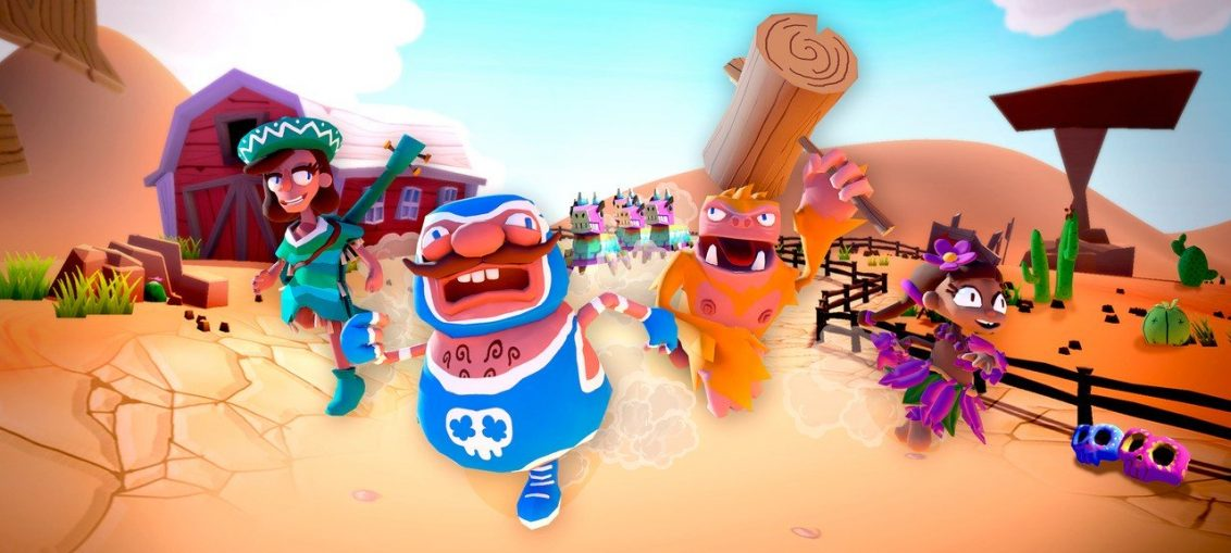 Must Dash Amigos Is A Quirky Racer Made By A Two-Man Team, And It's Coming To Switch