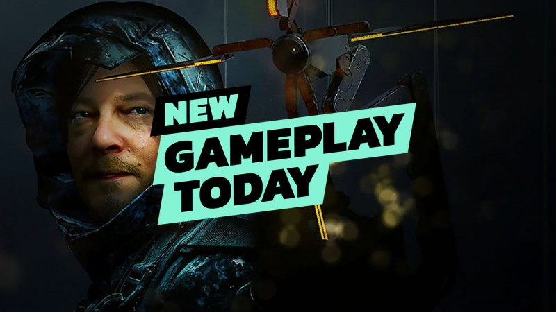 New Gameplay Today – Death Stranding