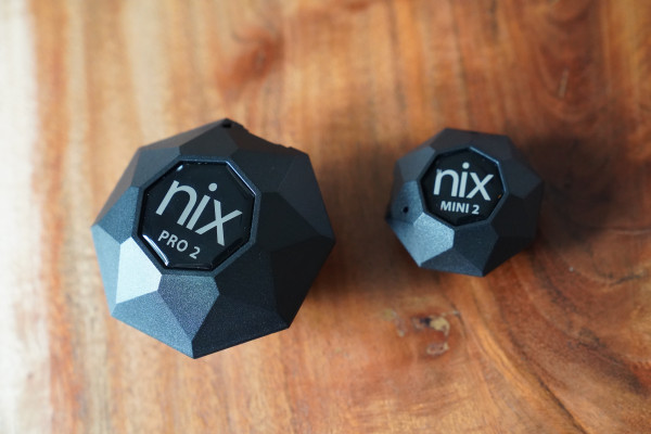 Nix Pro 2 and Nix Mini color sensors are powerful, easy-to-use additions to any creative pro toolkit