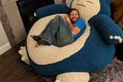 Random: This $3,500 Life-Size Snorlax Sure Looks Comfy