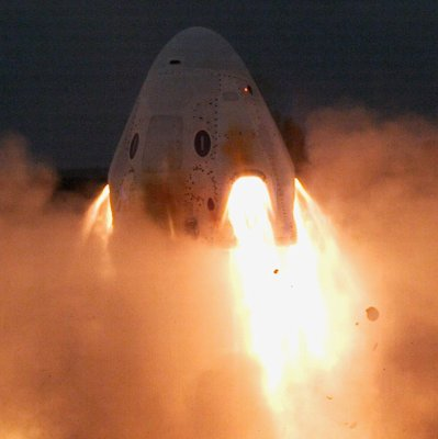 SpaceX completes key Crew Dragon launch system static test fire