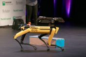 The ACLU wants details about videos of Boston Dynamics robot in police exercises