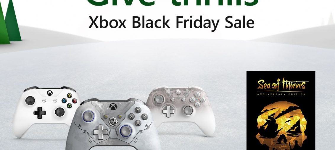 The First Wave of Xbox Black Friday Deals Has Arrived: Discounts on Sea of Thieves and Select Xbox Wireless Controllers