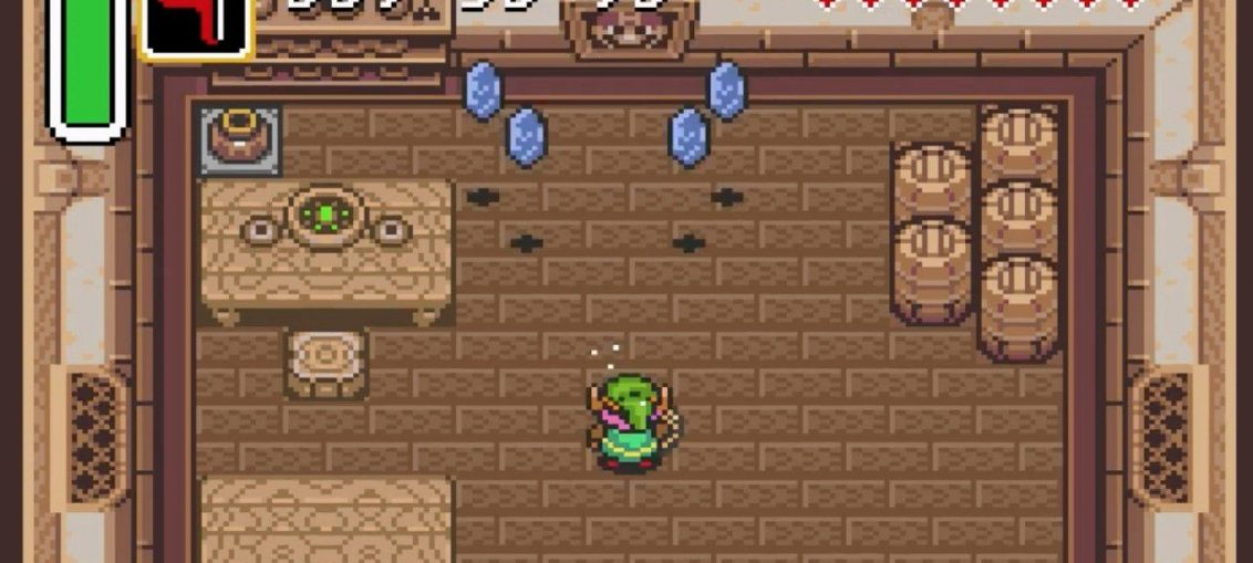 Video: Turns Out Zelda: A Link To The Past Features 12 Hidden Rupee 'Pull' Spots