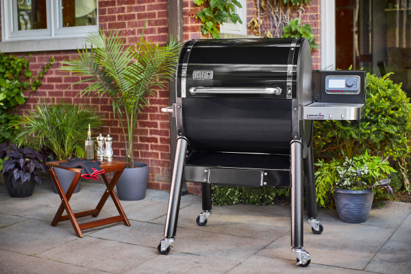 Weber's new SmokeFire pellet grill uses June technology for smart cooking