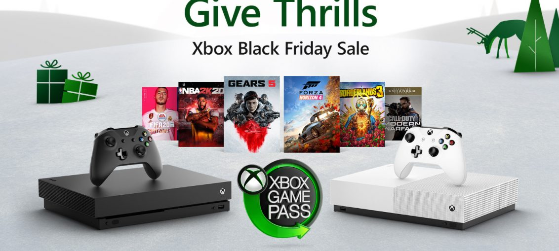 X019: The Complete Lineup of Xbox Black Friday Deals: Bundles, Xbox Game Pass, Games, Accessories and More