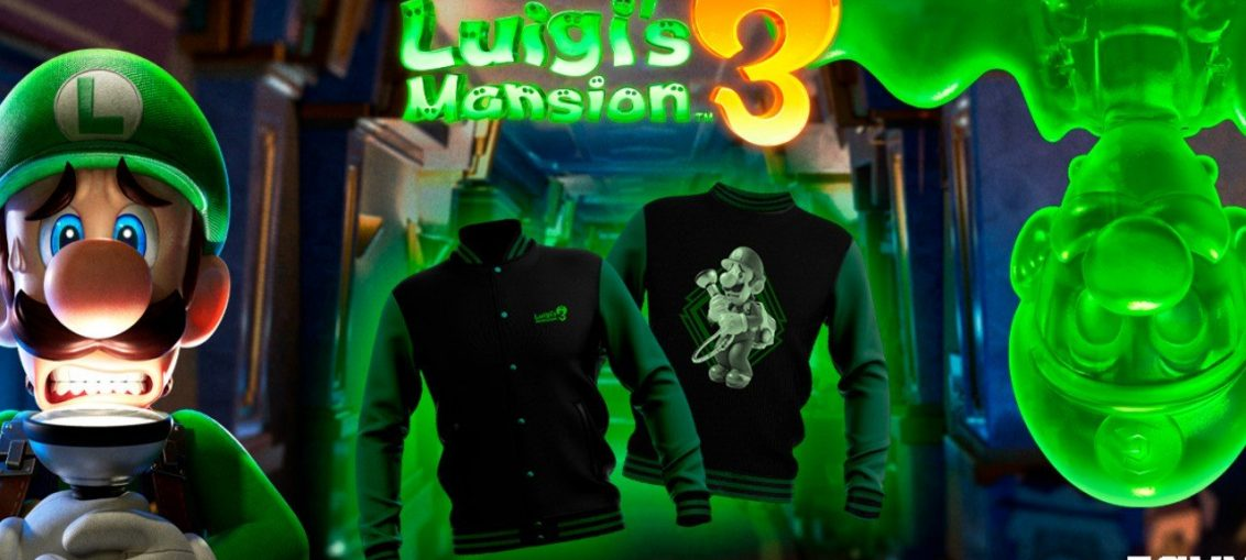 Zavvi's Luigi's Mansion 3 Clothing Range Will Make Your Friends Green With Envy