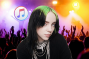 Apple Music dives deeper into concert streaming with Billie Eilish