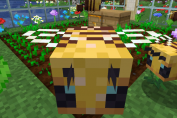 Buzzy Bees Are Coming to Minecraft!