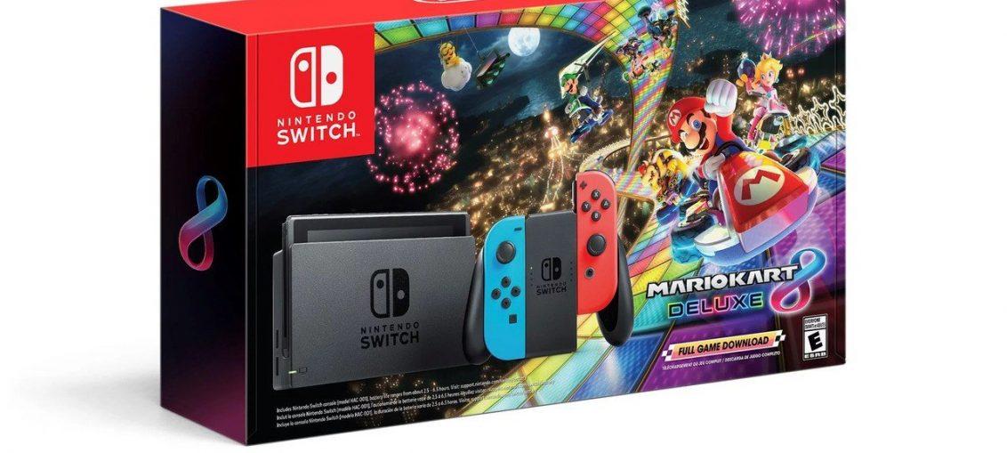 Nintendo's Mario Kart 8 Switch Bundle Dominated This Year's Black Friday Sales