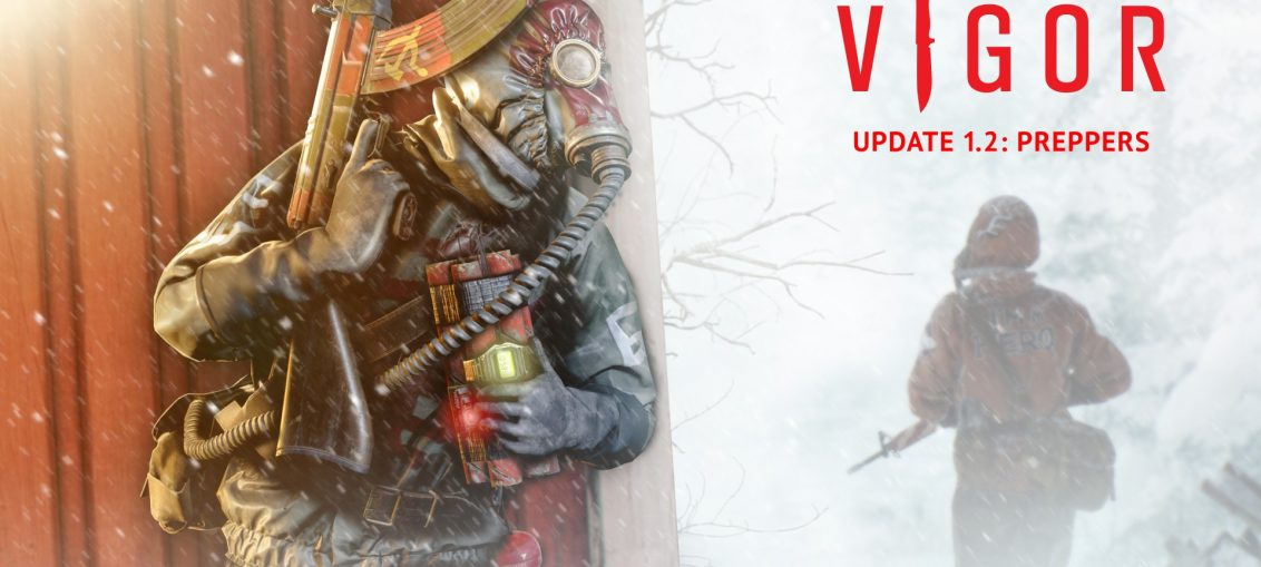 Vigor Introduces Battle Pass with Update 1.2: Preppers