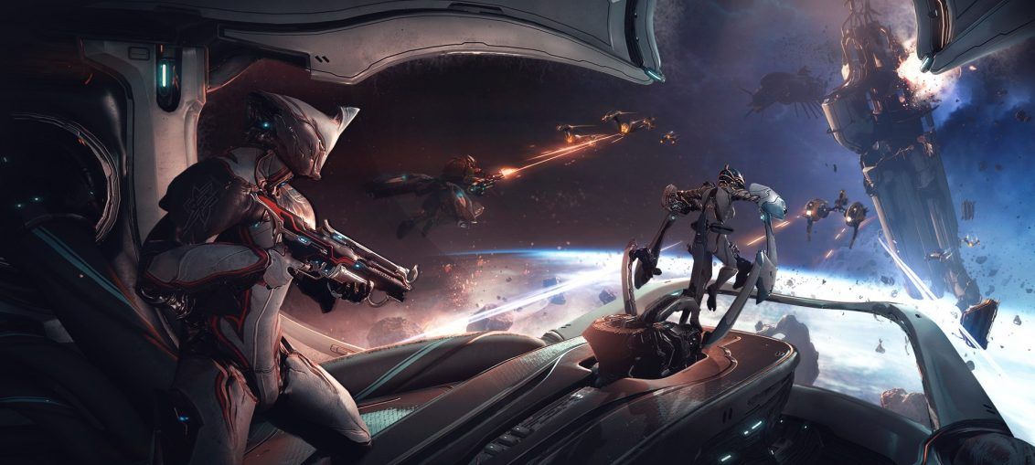 Warframe Takes Co-Op Space Combat to Next Level with Empyrean