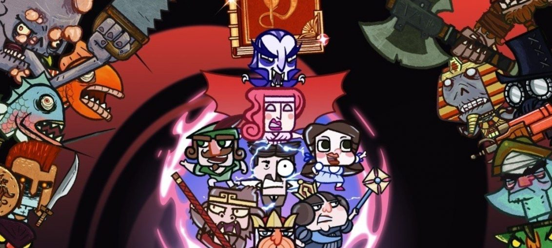 Dracula, King Arthur And The Wizard Of Oz's Dorothy All Star In This Bookish Metroidvania
