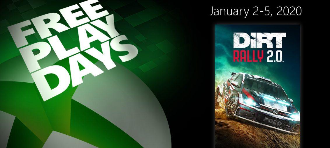 Free Play Days – DiRT Rally 2.0