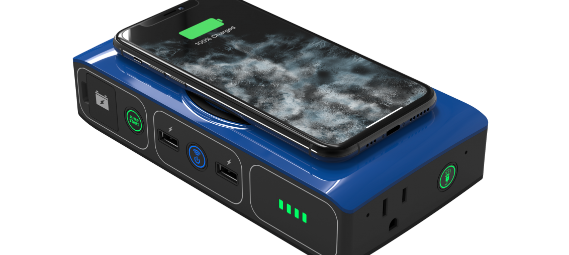 Mophie's newest battery pack ships with jumper cables to start your car