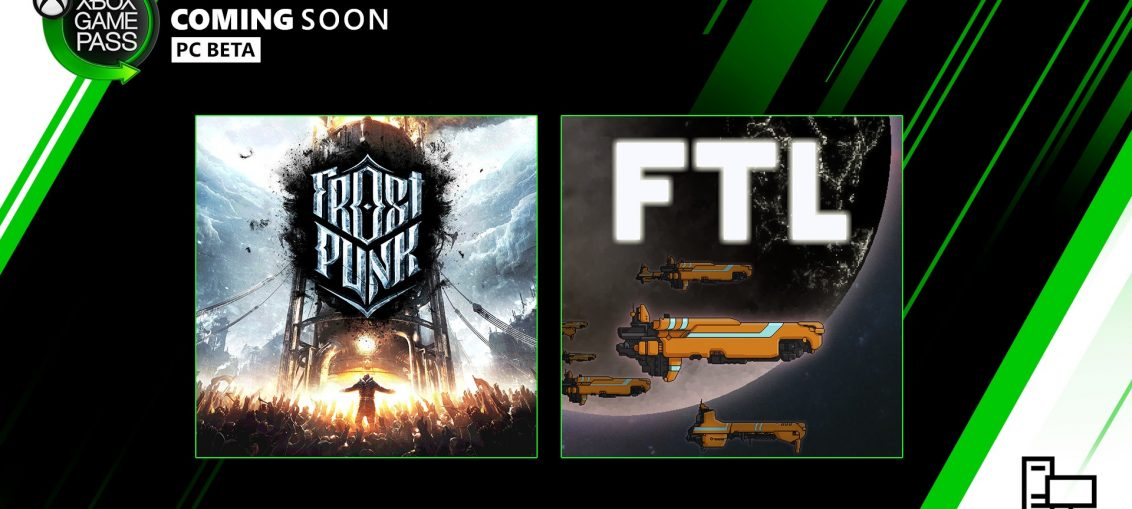 New with Xbox Game Pass for PC: Frostpunk, FTL: Faster Than Light
