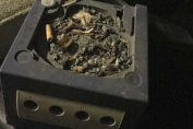 Random: Some Monster Actually Used A GameCube As An Ashtray