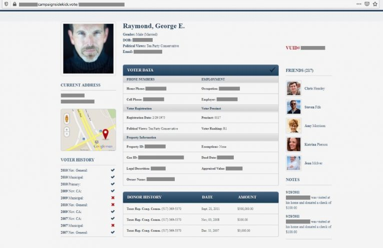 Security lapse exposed Republican voter firm's internal app code