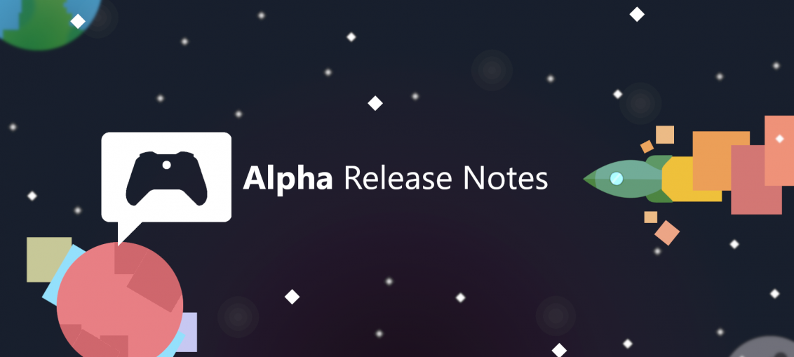 Xbox Insider Release Notes – Alpha Ring (2004.200317-0000)