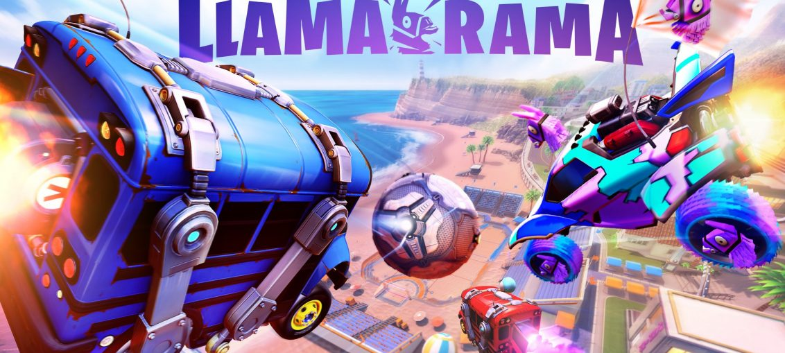 Start Your Engines for Llama-Rama: A Fortnite-Rocket League Crossover Event