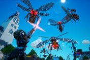Battle Blocky Bugs In Earth Defense Force: World Brothers This May