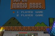 Random: You Can Play Super Mario Bros. In Minecraft, As Long As You Don't Mind 10FPS