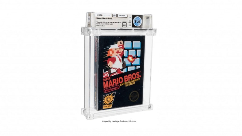 Sealed Super Mario Bros. Shatters World Record Selling For $660,000